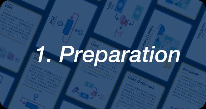 1. Preparation