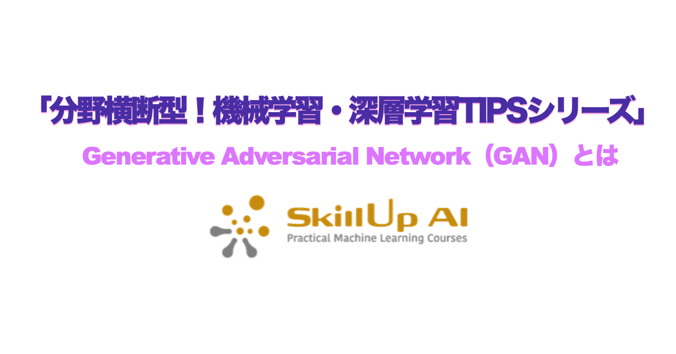 Generative Adversarial Network(GAN)とは
